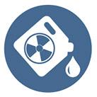 hazardous material container